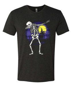 Skeleton Halloween Moon awesome T Shirt