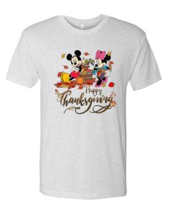 Happy Thanksgiving Disney awesome T Shirt