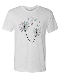 Flower Cycling awesome graphic T Shirt